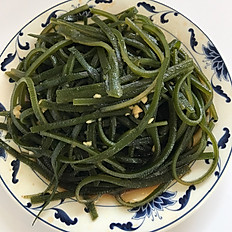 涼拌海帶絲: Marinated Seaweed Salad