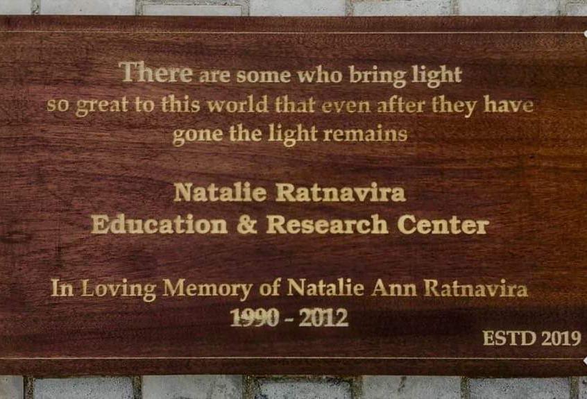 Natalie Ratnavira Educational Center