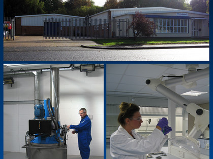 PERMABOND OPENS NEW UK PRODUCTION PLANT