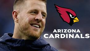 JJ Watt Will Sign With Arizona; Reunites with DeAndre Hopkins