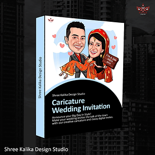Caricature-Wedding-Invitation-Box-Packag