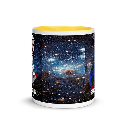 Space Force Guy mug with Color Inside
