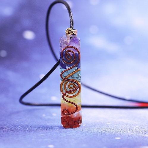 Rainbow Crystal Stones Necklace
