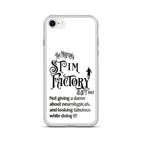 Stim Factory Circus Poster iPhone Case