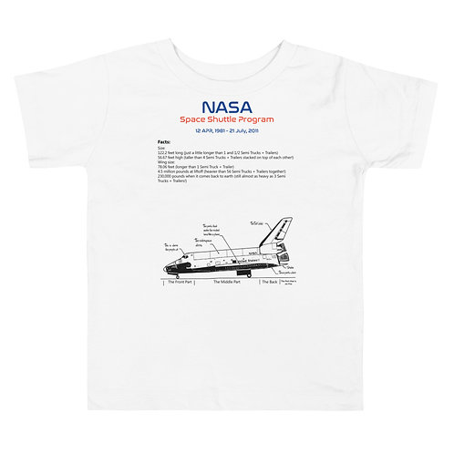 Toddler Space Shuttle Short Sleeve Tee
