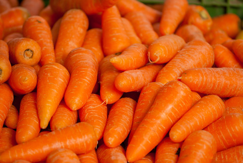 Carrots - Rich Source of vitamin A