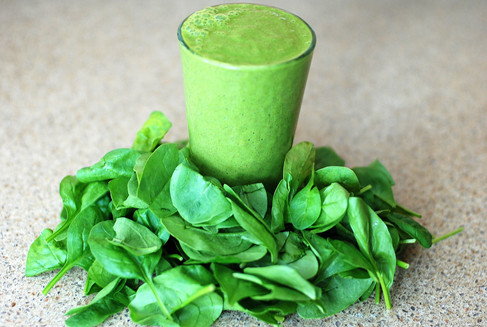 Spinach - Spinach Juice - a Rich source of Vitamin A