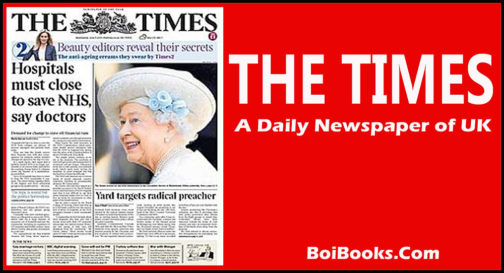 Leading newspaper of UK and also one of the oldest newspapers. founded in 1785