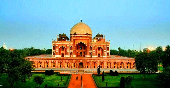 Humayun's Tomb is the first Garden Tomb of India, It was buit in 744 EC by Humayun.