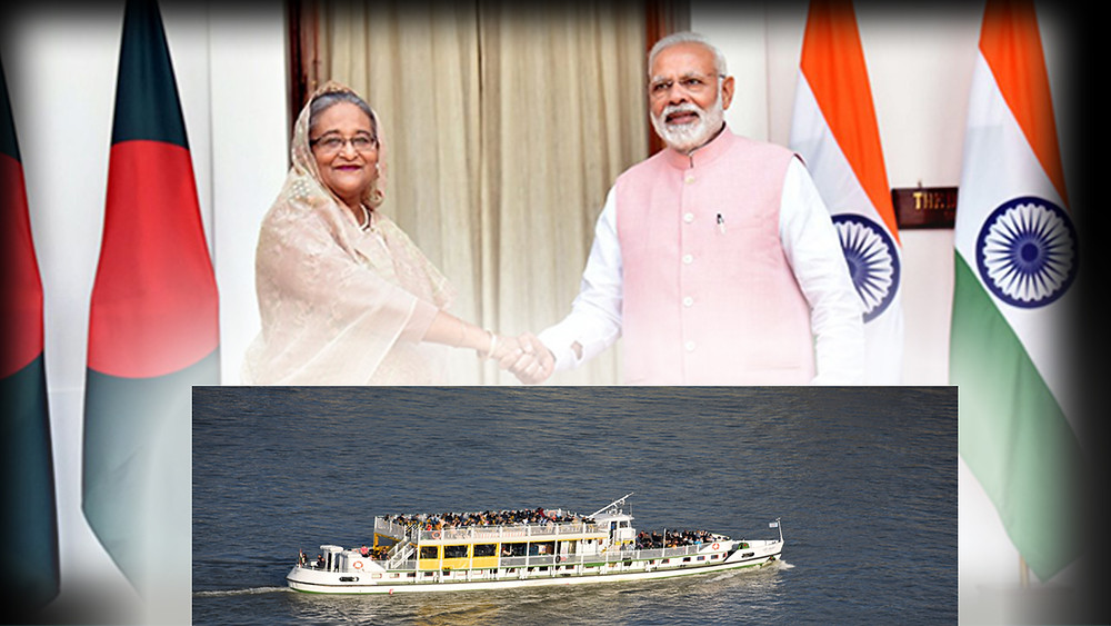 Recently, Sonamura-Daudkandi inland waterway route between India and Bangladesh was operationalised.  Daudkandi is in Bangladesh, while Sonamura is in Tripura, India