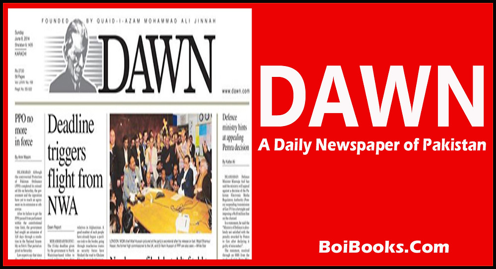 A leading English daily of Pakistan, established in 1941.