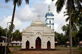 St. Thomas Church is the first Church of India, situated in Palayoor, Kerala.