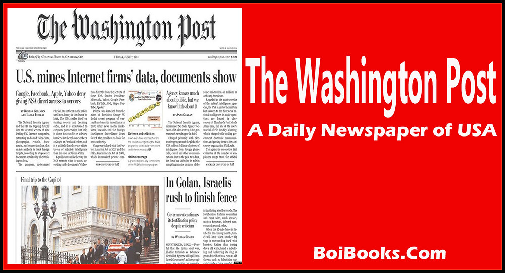 A leading daily of USA founded in 1877. It has over 1 million digital copies and over 355 thousand print copies.