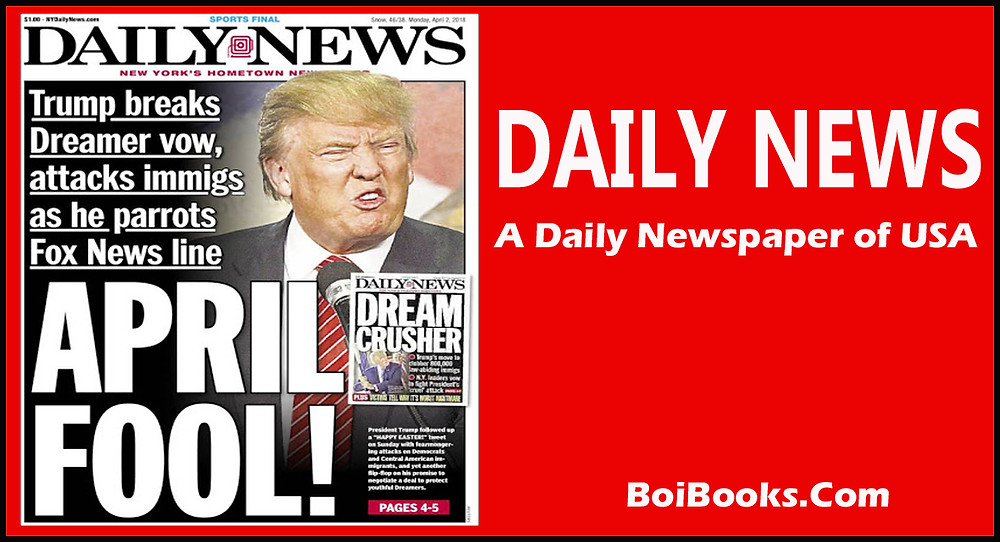 Daily News is one of the oldest newspaper of USA. Headquarter in Manhattan, New York, USA