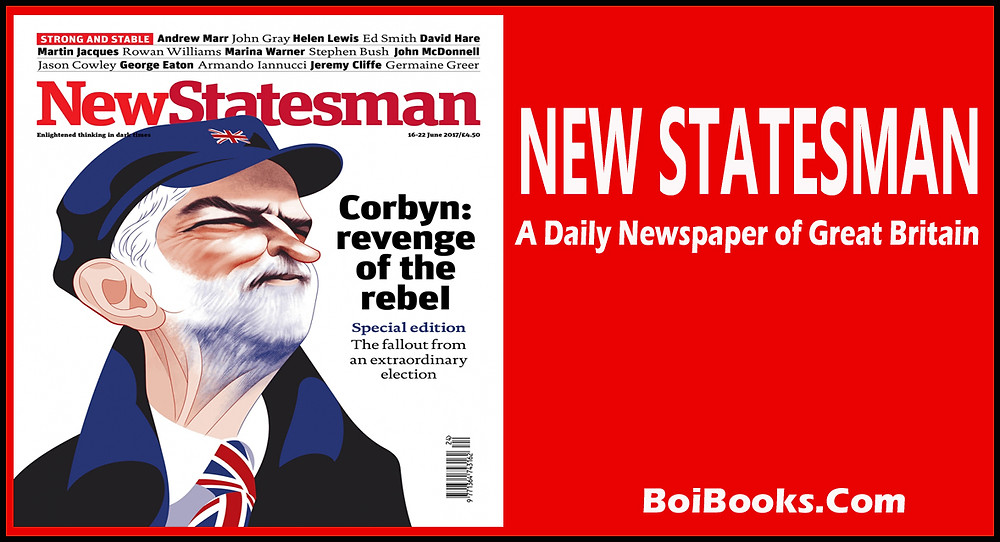 New Statesman is one of the famous and oldest daily of Great Britain.
