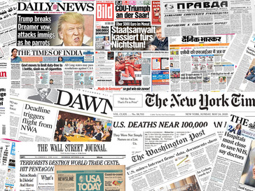 20 Most Famous Newspapers of The World   For Competitive Exams