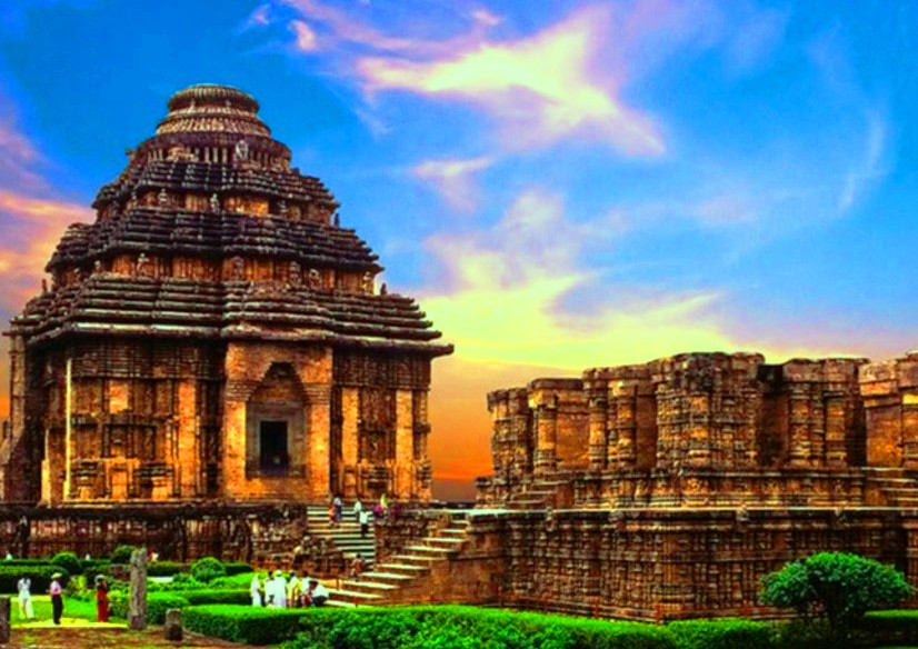 Konark Sun Temple was the first temple of India. Situated in Puri, Odisha