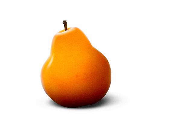 Brilliant Glazed Orange Pear