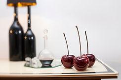 Brilliant Glazed Internal Cherry Sculptu