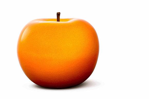 Brilliant Glazed Orange Apple