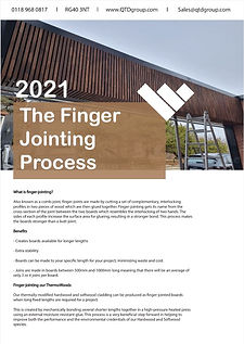 The Finger Jointing Process