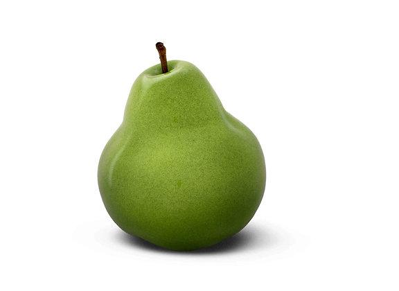 Brilliant Glazed Green Pear