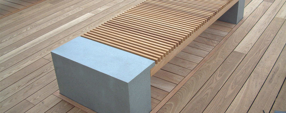ThermoWood Ash Bench London