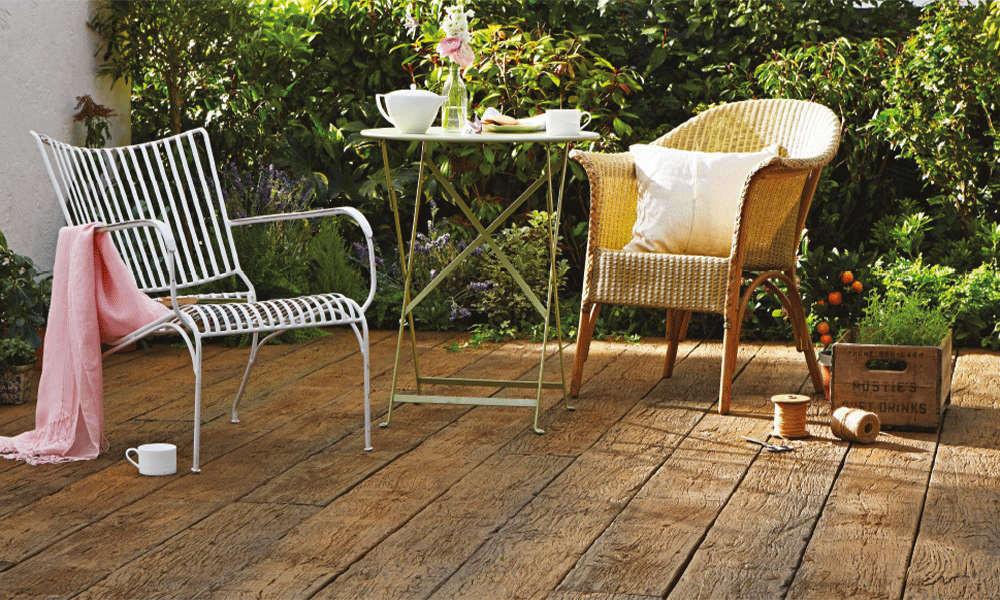 Weathered-Oak Residential Millboard Decking