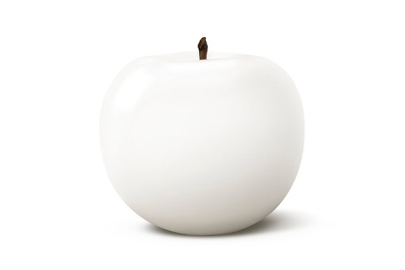 Brilliant Glazed White Apple
