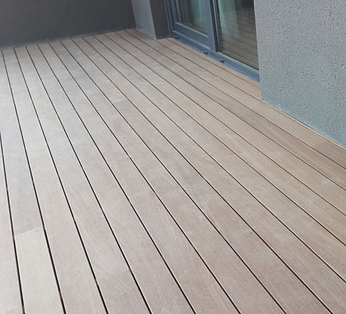 Qtd ltd thermowood iroko hardwood decking for B and q timber decking
