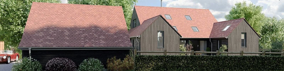 ThermoWood Charred Cladding