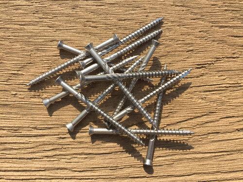 Deckboard Screws 4.5 x 60mm (500 Pack) Small Head