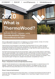 What is ThermoWood