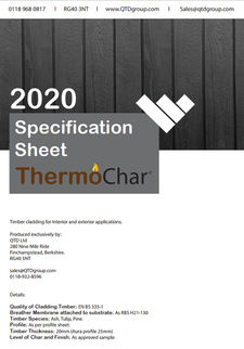 ThermoChar Specification Sheet