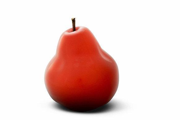 Brilliant Glazed Red Pear