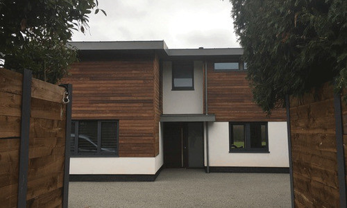 ThermoWood Ash Cladding
