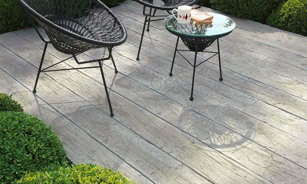 Driftwood Weathered-Oak Millboard Decking Seating