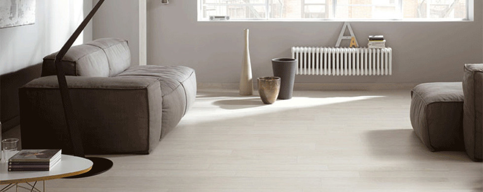 White Internal Flooring