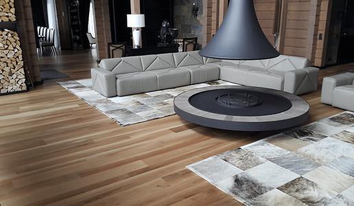 Walnut Internal Flooring