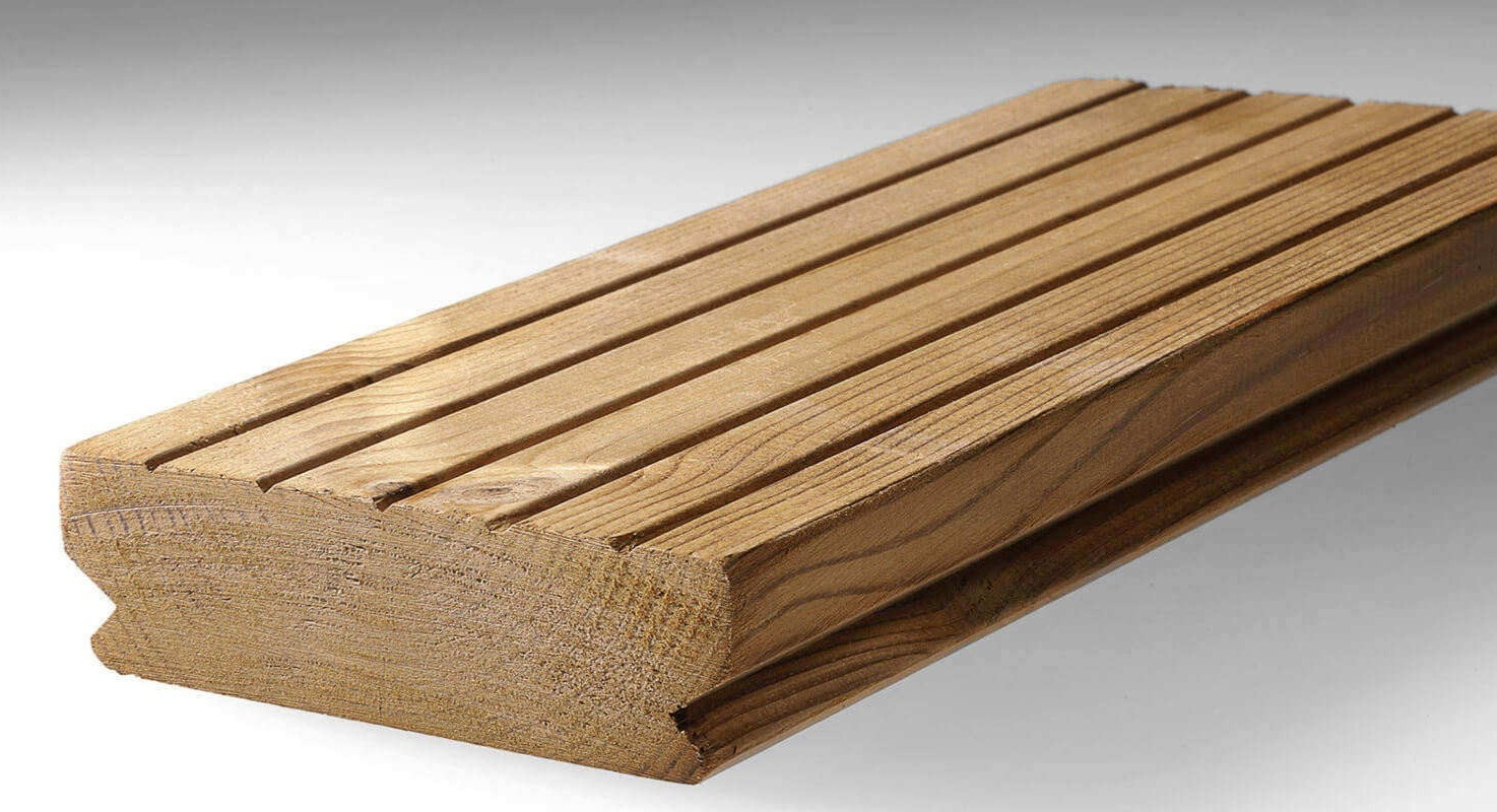 ThermoWood Pine Softwood Decking