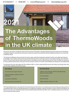 The Advantages of ThermoWoods in the UK