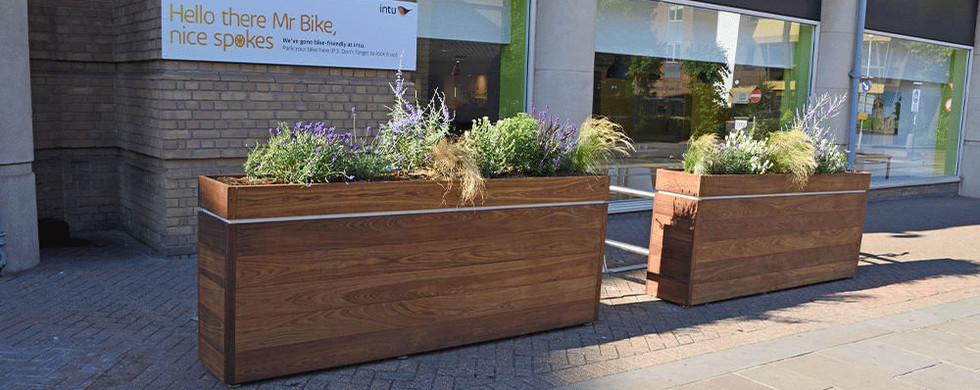 London Planters ThermoWood Ash