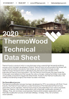 ThermoWood Technical Data Sheet