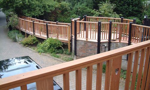 Ipe Tropical Hardwood Decking Boardwalk
