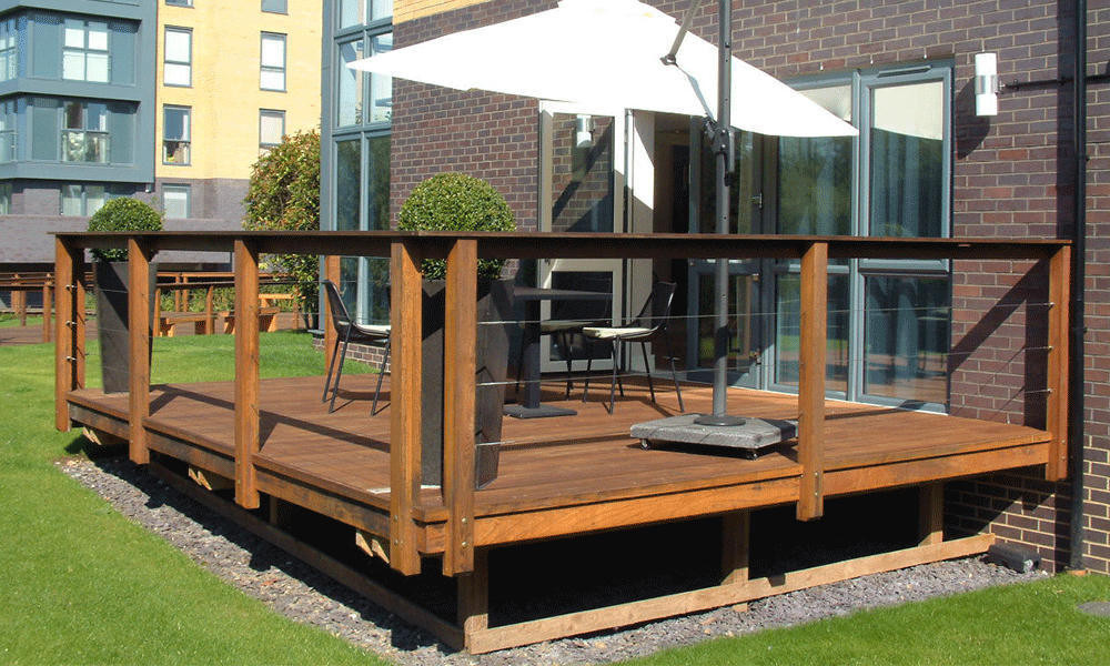 ThermoWood Ash Decking