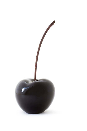 Brilliant Glazed Black Cherry