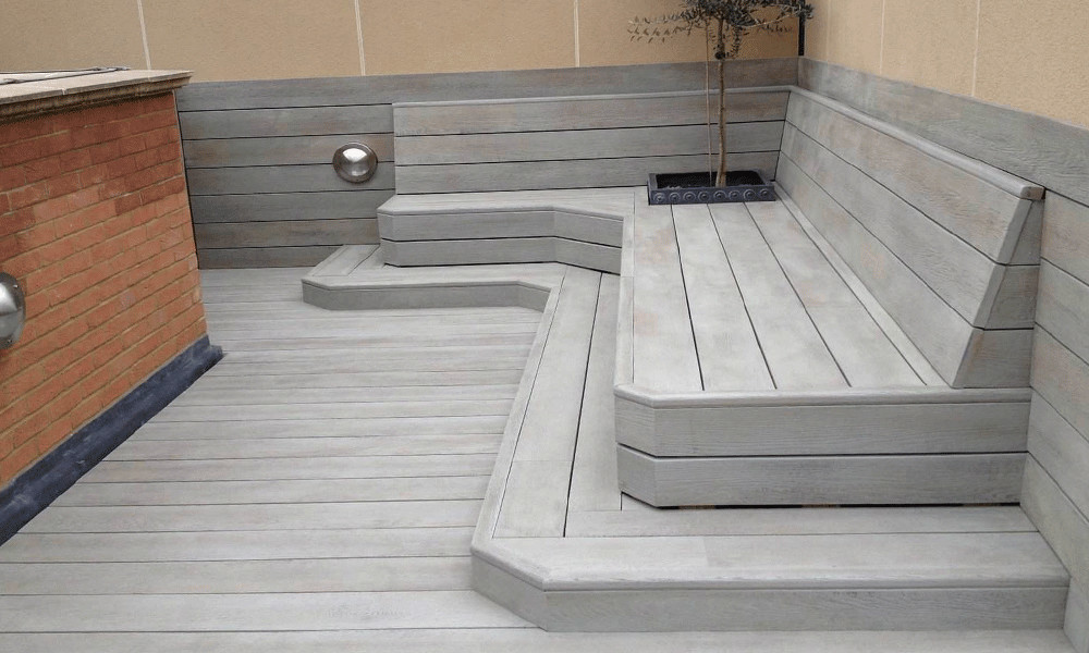 Millboard Bench