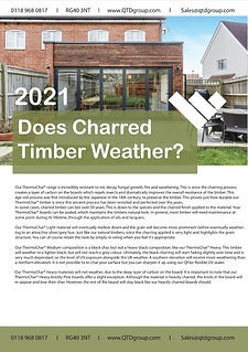 Does Charred Timber Weather