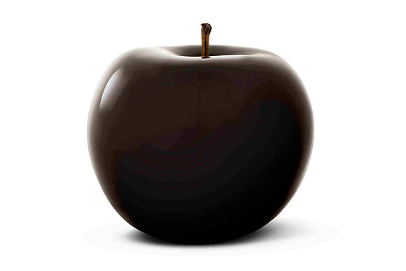 Brilliant Glazed Black Apple