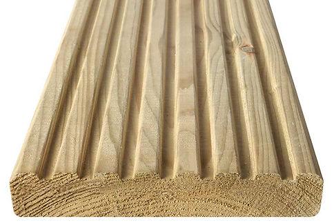 Pressure Treated Spruce Pine Decking